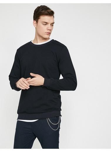 Koton Sweatshirt Lacivert
